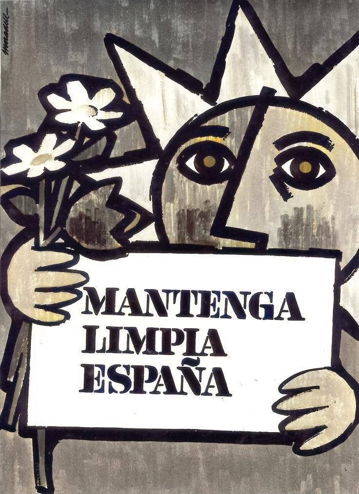 «Mantenga limpia España»